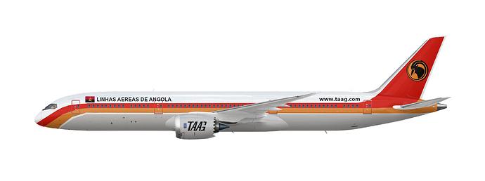 TAAG Boeing 787-9
