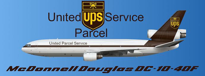 UPS DC-10-40F