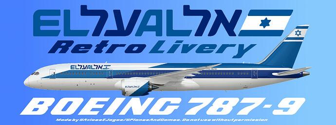 EL AL Retro 787-9