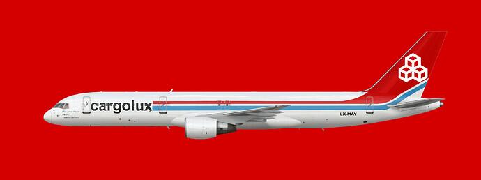 Cargolux 757-200